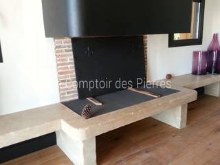 Moderne Wohnzimmer von LE COMPTOIR DES PIERRES Modern