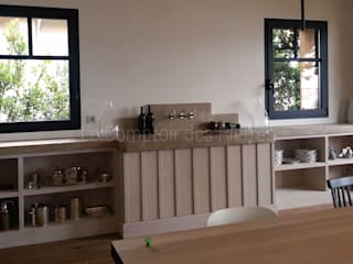 Moderne Küchen von LE COMPTOIR DES PIERRES Modern