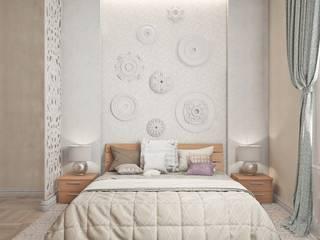 Dormitorios clásicos de Ирина Рожкова - частный дизайнер интерьера Clásico