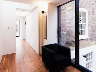 Extension & House Renovation SW18 - London Diamond Constructions Ltd Modern corridor, hallway & stairs