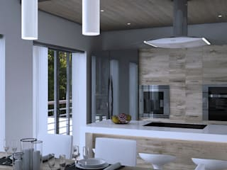 Cucina: Cucina in stile in stile Moderno di AVarch