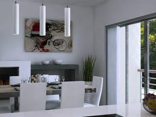 Casa Farnese Interni: Sala da pranzo in stile in stile Moderno di AVarch
