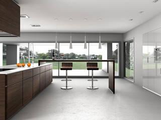 Infografía 3d cocinas:  de estilo  de IMAGINA