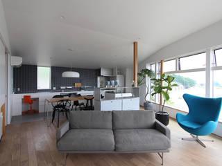 野田の家: MAG + 宮徹也建築計画が手掛けた現代のです。,モダン