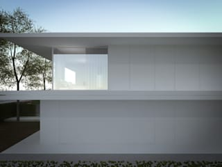 Nuova abitazione bifamiliare: Case in stile in stile Minimalista di MIDE architetti