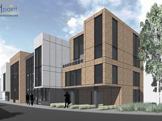 Budynek biurowy: styl , w kategorii Biurowce zaprojektowany przez arch-point