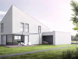Dom w Gliwicach: styl , w kategorii  zaprojektowany przez Ewa Prejs