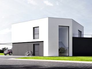 Dom w Katowicach: styl , w kategorii  zaprojektowany przez Ewa Prejs