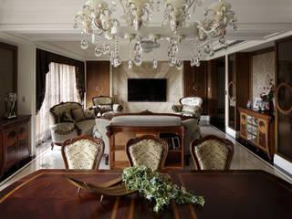 尋找古典的本質 大荷室內裝修設計工程有限公司 餐廳 Brown