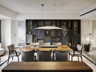 Classic style dining room by 大荷室內裝修設計工程有限公司 Classic