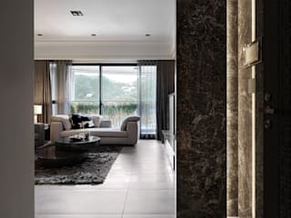 Classic style living room by 大荷室內裝修設計工程有限公司 Classic