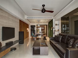 木皆空間設計 Livings de estilo