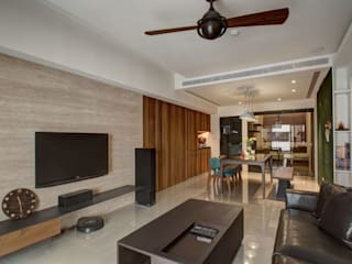 木皆空間設計 Salas de estilo rural