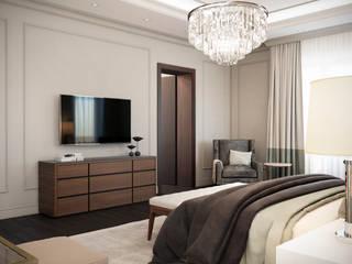Загородный дом на Волоколамском шоссе: Спальни в . Автор – Berry Concept Design