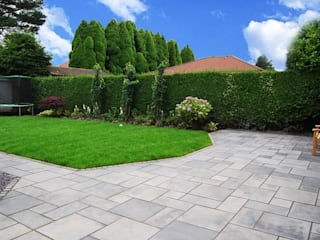 Maxwell Nowoczesny ogród od M Squared Nowoczesny