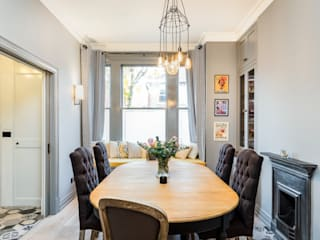 Dining room by Orchestrate Design and Build Ltd., Modern