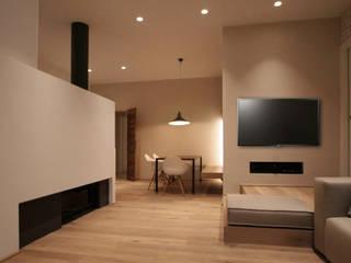Progettazione appartamento e interior design Soggiorno moderno di Studio Maggiore Architettura Moderno