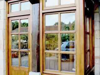 Reforma de vivienda en Álava Casas de estilo rústico de Ekain Arquitectura Rústico