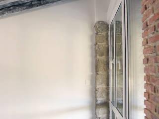Reforma de vivienda en Álava Dormitorios de estilo rústico de Ekain Arquitectura Rústico