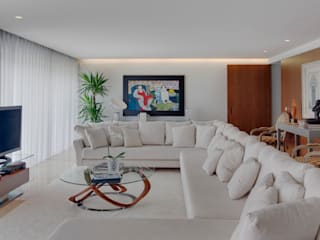Wohnzimmer von B.loft, Modern