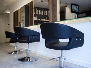 Peluquería Peinados Espacios comerciales de estilo minimalista de Desde Cero Estudio Minimalista