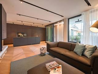 غرفة المعيشة تنفيذ FADD Architects