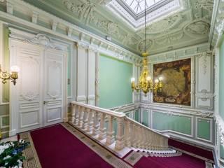 Belimov-Gushchin Andrey Pasillos, vestíbulos y escaleras clásicas Piedra Verde