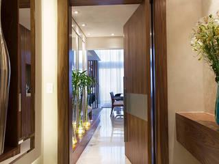 Infinity Spaces 現代風玄關、走廊與階梯