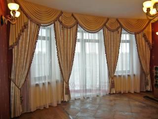 Шторы для гостиной комнаты в классическом стиле. от Студия Декор-эксперт Классический
