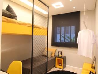 Pricila Dalzochio Arquitetura e Interiores Dormitorios infantiles modernos Amarillo