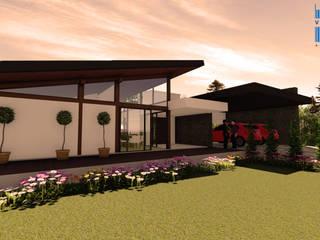 Residência LJF - Lagoa Vermelha Casas modernas por VIALIVIALI Arquitetura Moderno