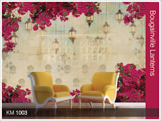 Krsna Mehta wallcoverings: classic  by Wall Art Private Limited,Classic