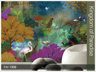 Krsna Mehta wallcoverings by Wall Art Private Limited