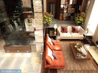 Студия интерьера Дениса Серова Modern living room