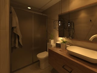 Modern Bathroom by Arq Eduardo Galan, Arquitectura y paisajismo Modern