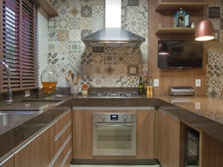Reforma cozinha por Neohaus Arquitetura + Interiores Rústico