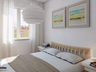 Chambre moderne par P&P arquitectos Moderne