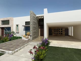 HF Arquitectura Modern houses