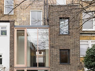 View from the garden :  Houses by Gundry & Ducker Architecture