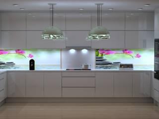 cozinhas modernas RUI BESSA INTERIORES CozinhaArmários e estantes MDF Multicolor