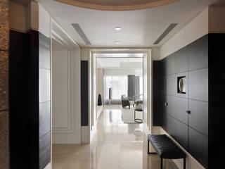 居悅 大荷室內裝修設計工程有限公司 現代風玄關、走廊與階梯