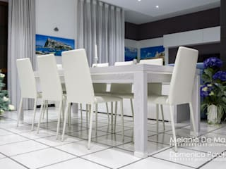 Comedores de estilo  de melania de masi architetto, Moderno