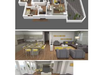 Modern Living Room by Roma Mimarlık Modern