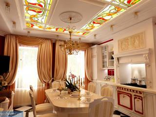 Студия интерьера Дениса Серова Classic style dining room