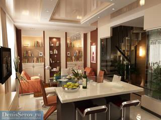 Студия интерьера Дениса Серова Modern dining room