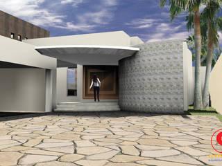 Maisons minimalistes par SG Huerta Arquitecto Cancun Minimaliste