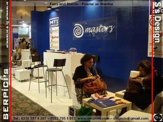 SERPİCİ's Mimarlık ve İç Mimarlık Architecture and INTERIOR DESIGN Event Venue Modern Kayu Blue