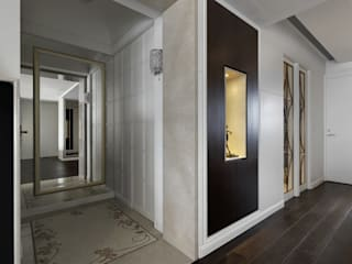 Classic style corridor, hallway and stairs by 大荷室內裝修設計工程有限公司 Classic