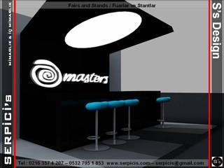 SERPİCİ's Mimarlık ve İç Mimarlık Architecture and INTERIOR DESIGN Event Venue Modern Kayu Black