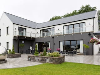 Dunadry House Modern houses by slemish design studio architects Modern